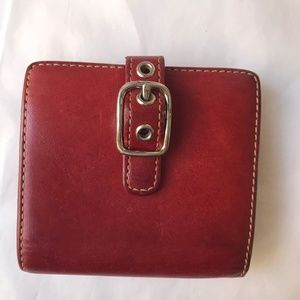Coach Card Change Wallet